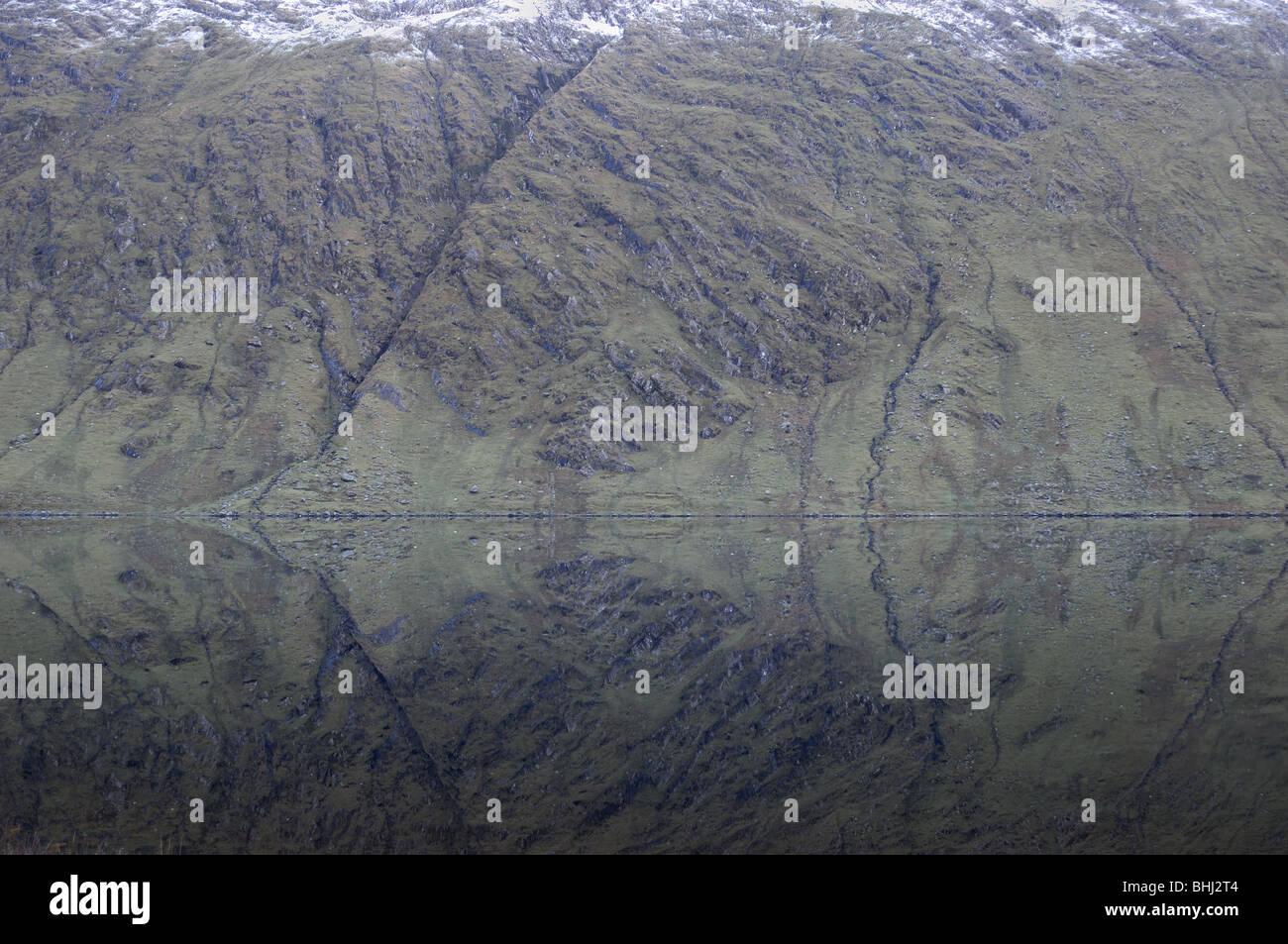 Glenbeg Lake, Ireland - Stock Image