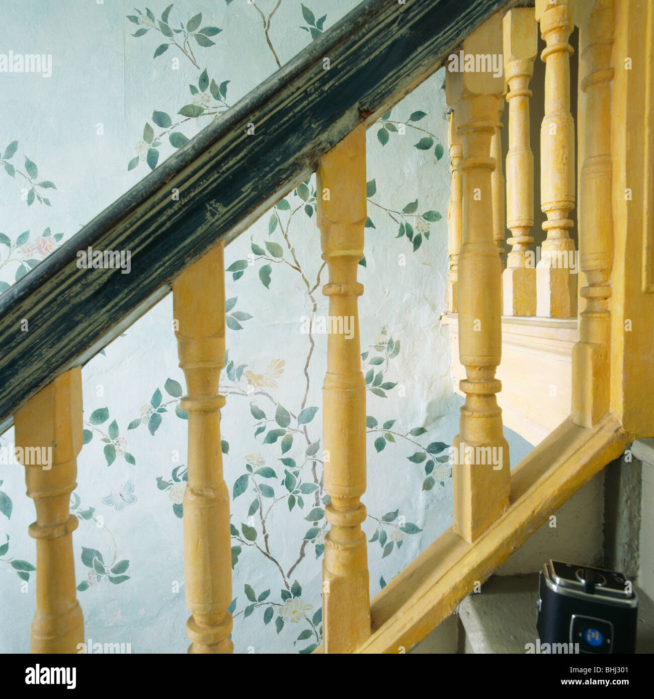 Outstanding Decorating Wall Going Up Stairs Crest - Wall Art ...