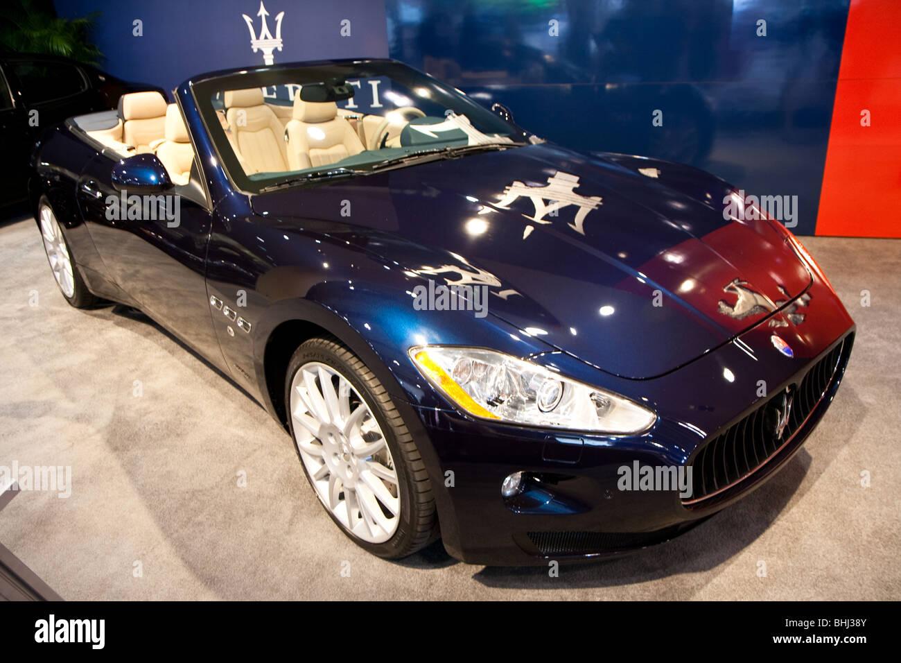Maserati Grand Turismo GT - Stock Image