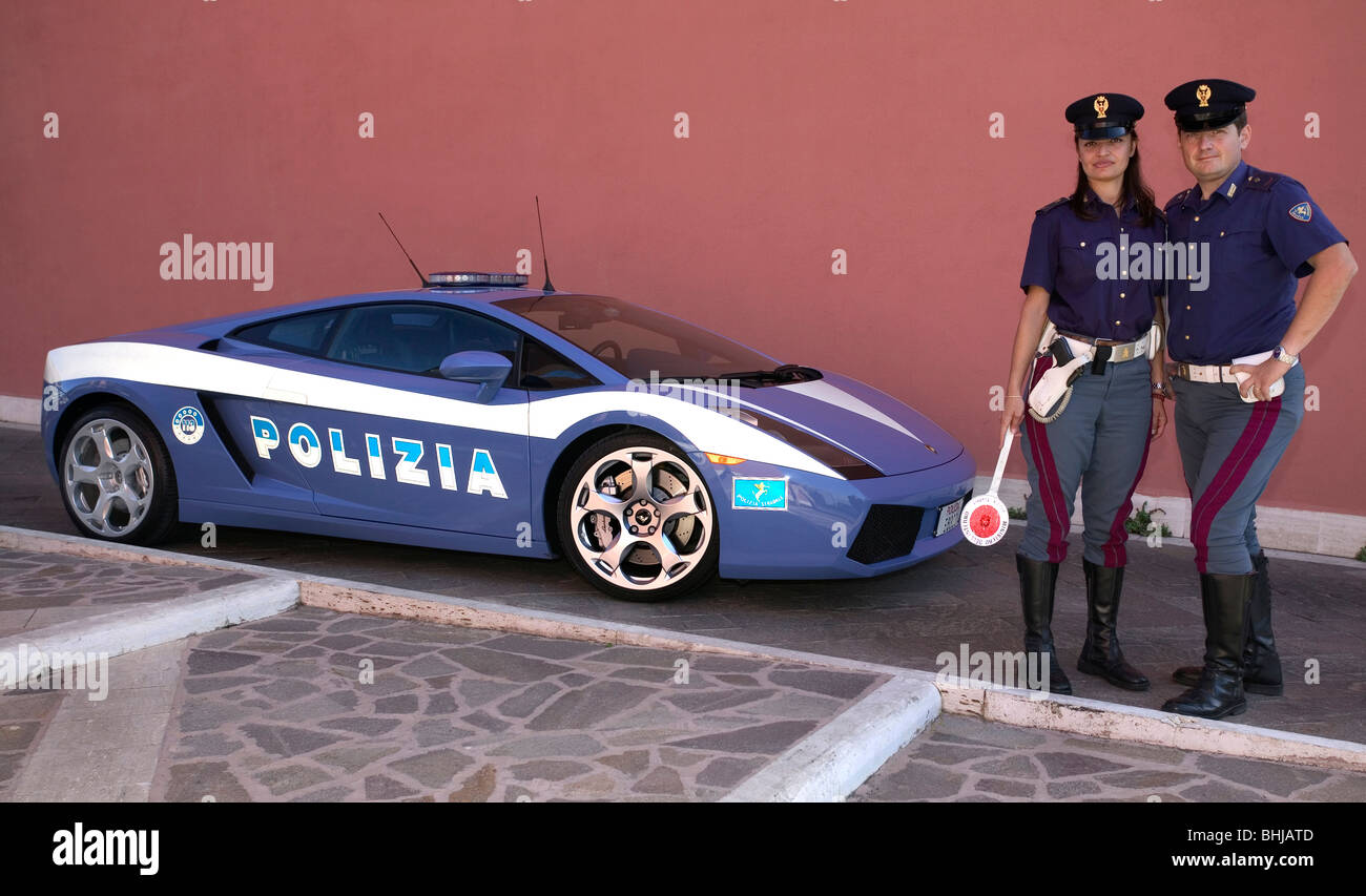Italian Police Car Stock Photos Italian Police Car Stock Images