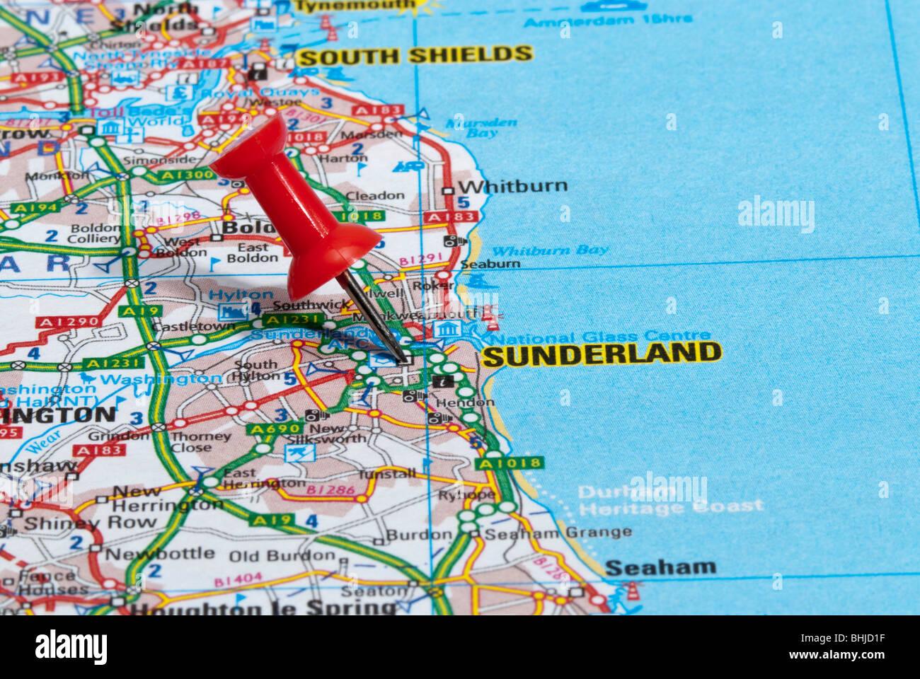 Sunderland Town Centre Stock Photos Sunderland Town Centre Stock