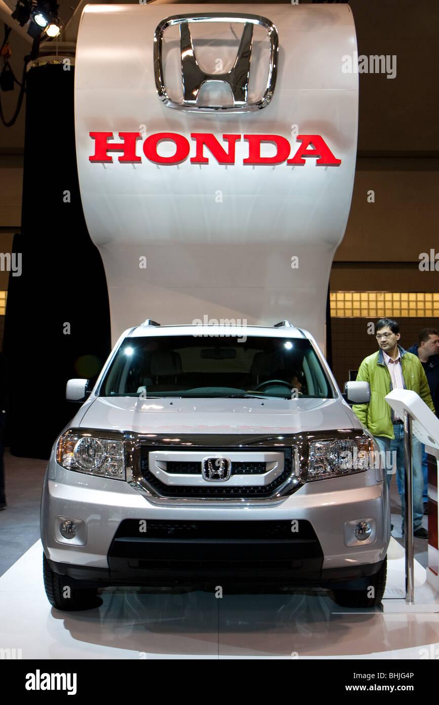 'Honda CRV' - Stock Image