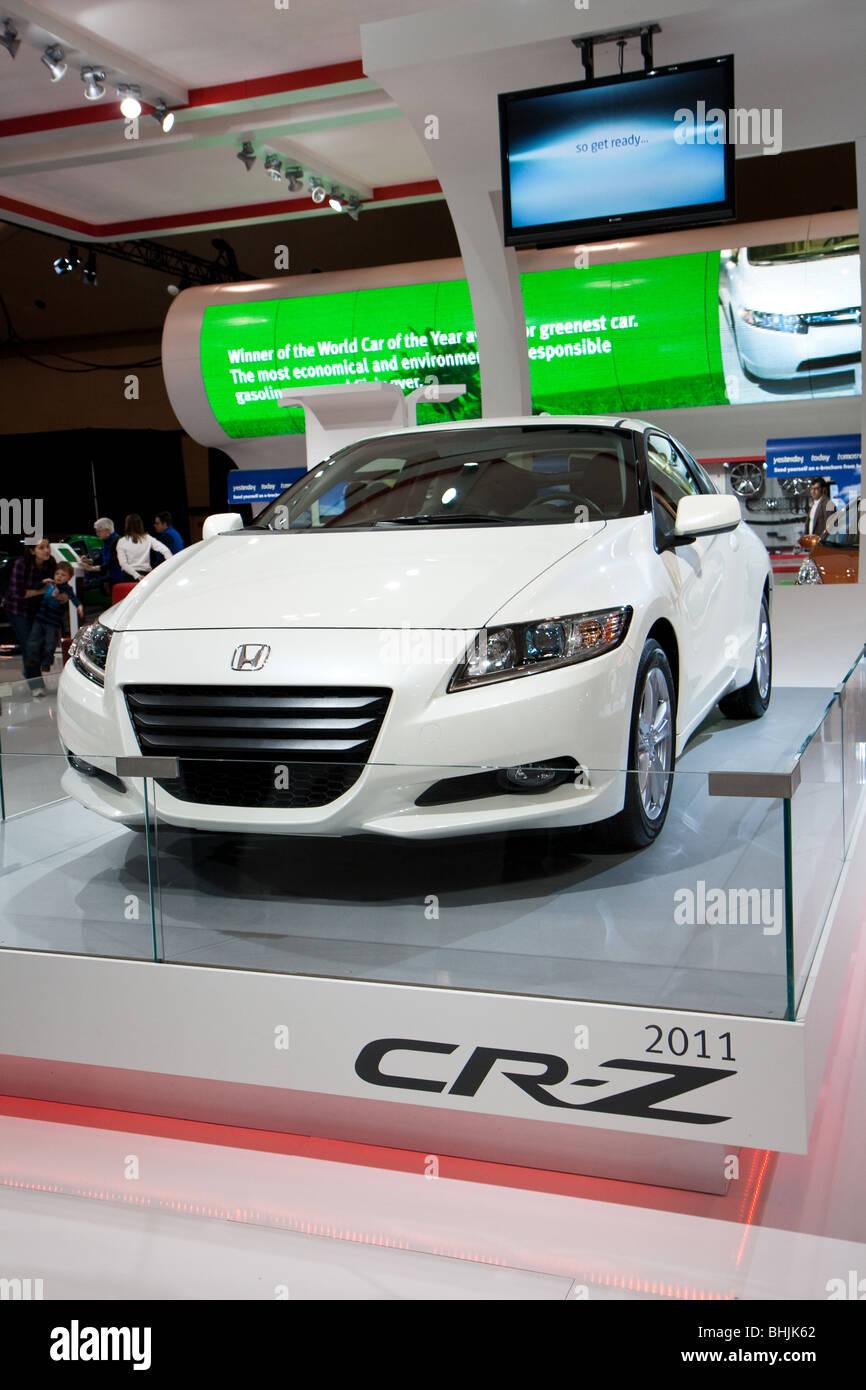'Honda CR-Z' 'Honda CRZ' concept hybrid car - Stock Image