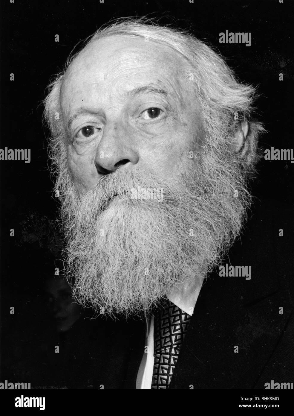 Martin Buber, philosopher and existentialist. - Stock Image