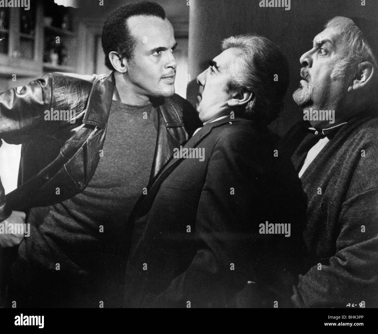 Harry Belafonte (1927- ), American actor and singer in a scene from 'The Angel Levine', 1970. - Stock Image