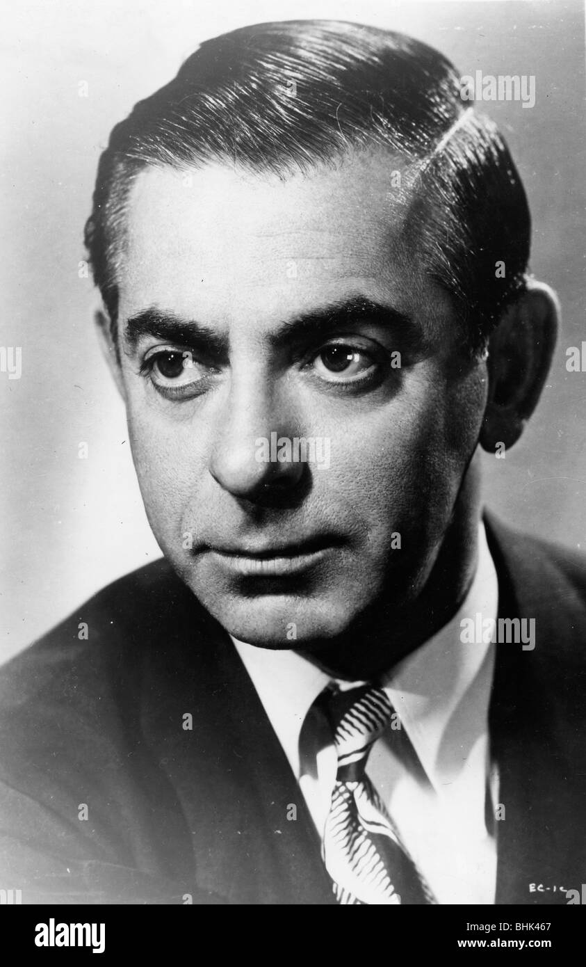 Eddie Cantor (1892-1964), American Screenwriter and Actor. - Stock Image