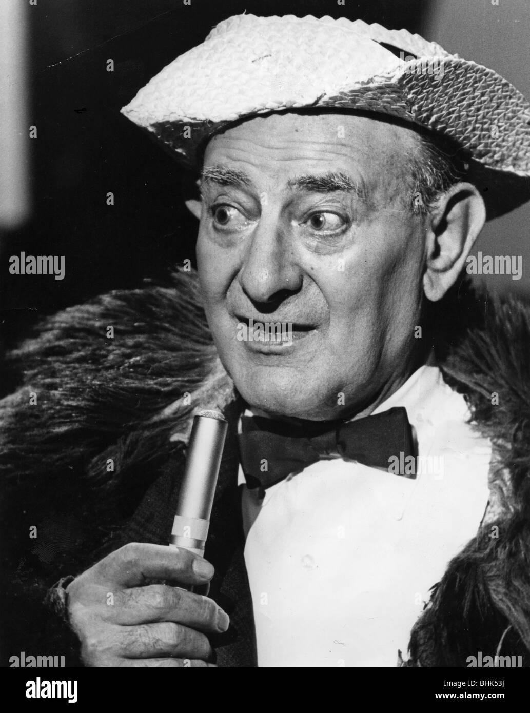 Bud Flanagan (1895-1968), British singer and entertainer. - Stock Image