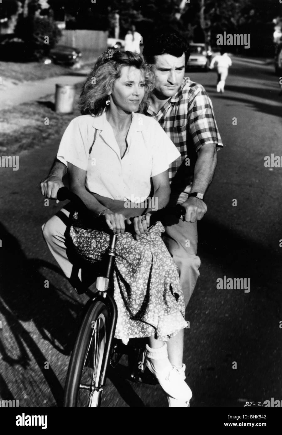 Jane Fonda (1937- ) and Robert De Niro (1943- ), 1990. - Stock Image