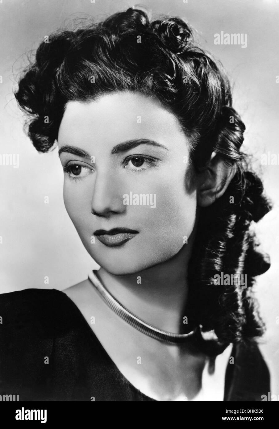Marshall, Zena, 1.1.1925 - 10.7.2009, British actress, portrait, circa 1950s, Additional-Rights-Clearances-NA - Stock Image