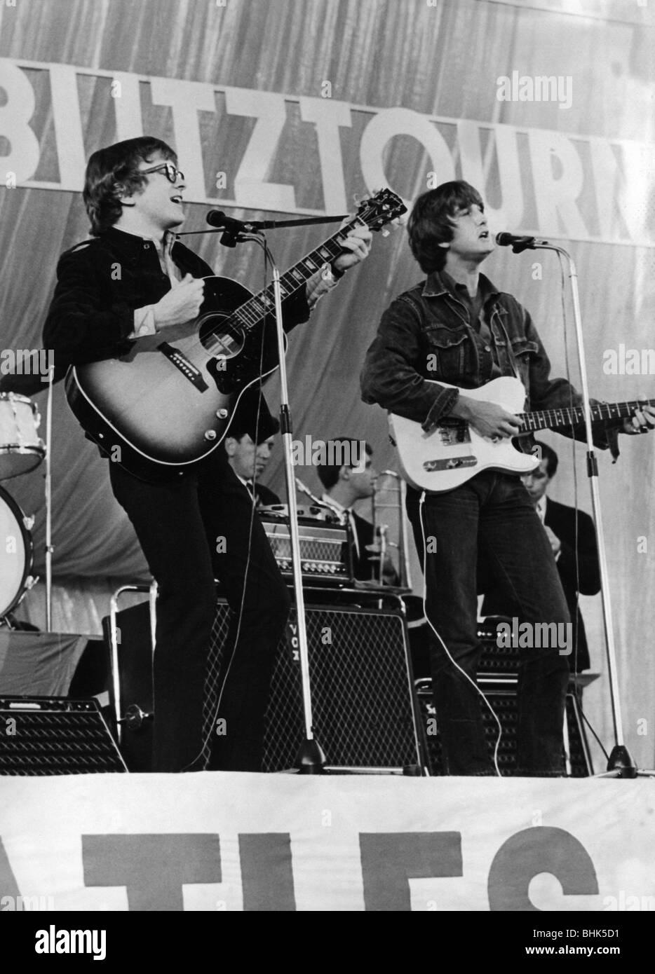 Peter and Gordon, British music group (pop), 1964 - 1968, (* 22.6.1944), Gordon Waller (4.6.1945 - 17.6.2009), during Stock Photo