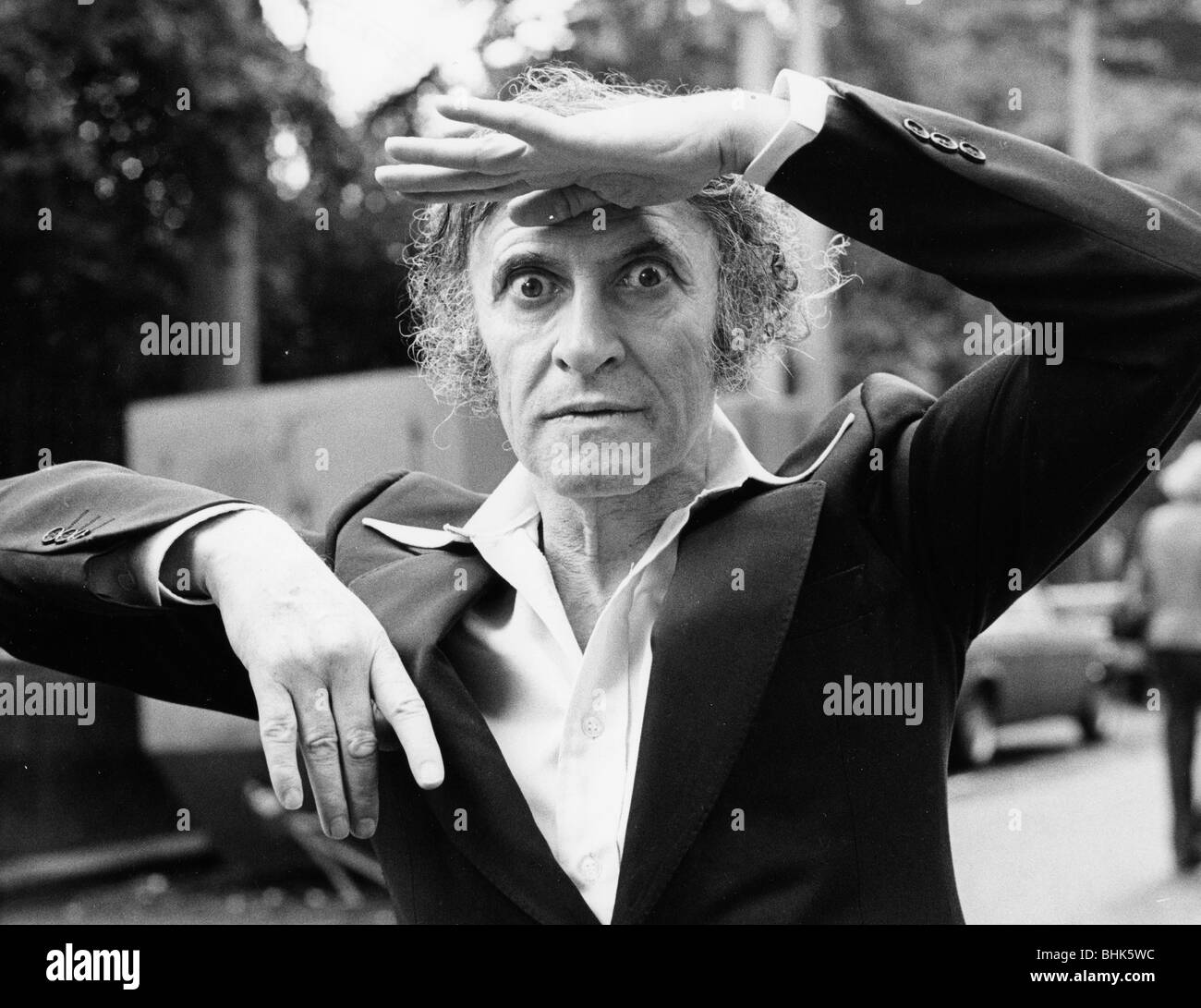 Marcel Marceau (1923-1999), French mime artist. - Stock Image