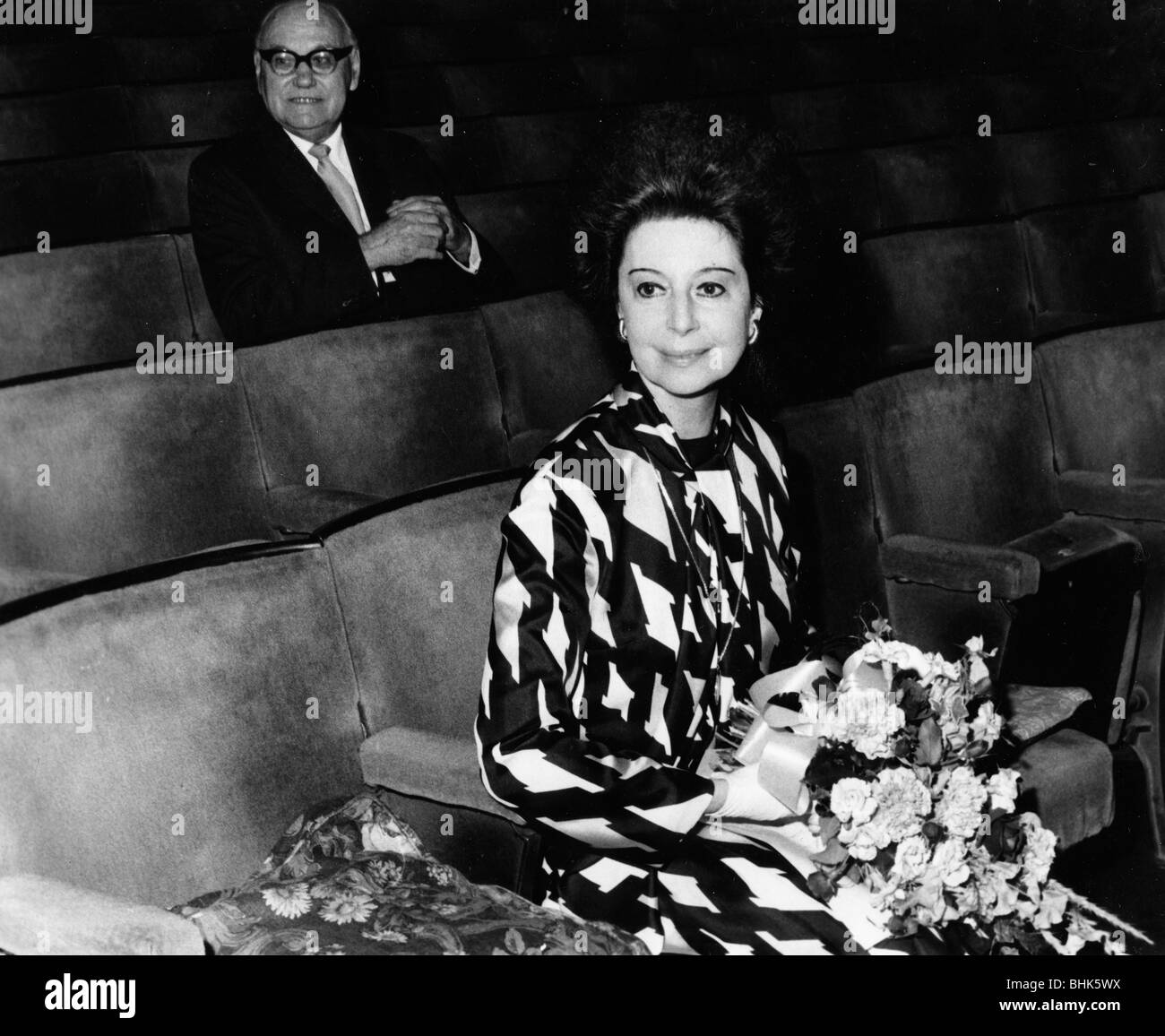 Dame Alicia Markova (1910- ), Britsh ballet dancer. - Stock Image