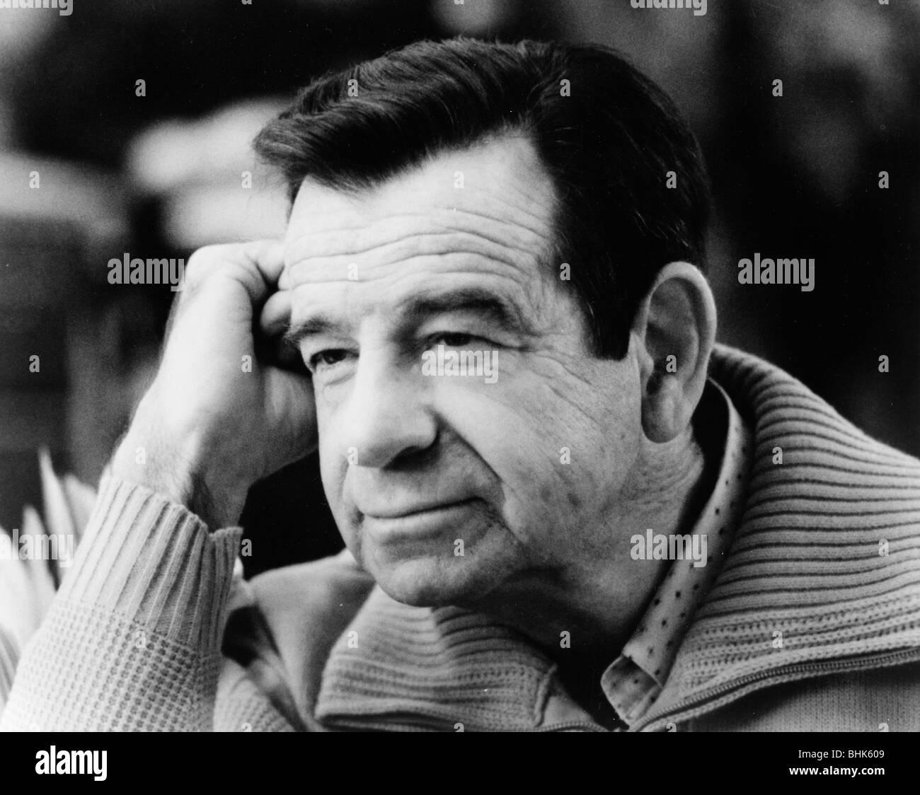 Walter Matthau (1920-2000), American actor. - Stock Image