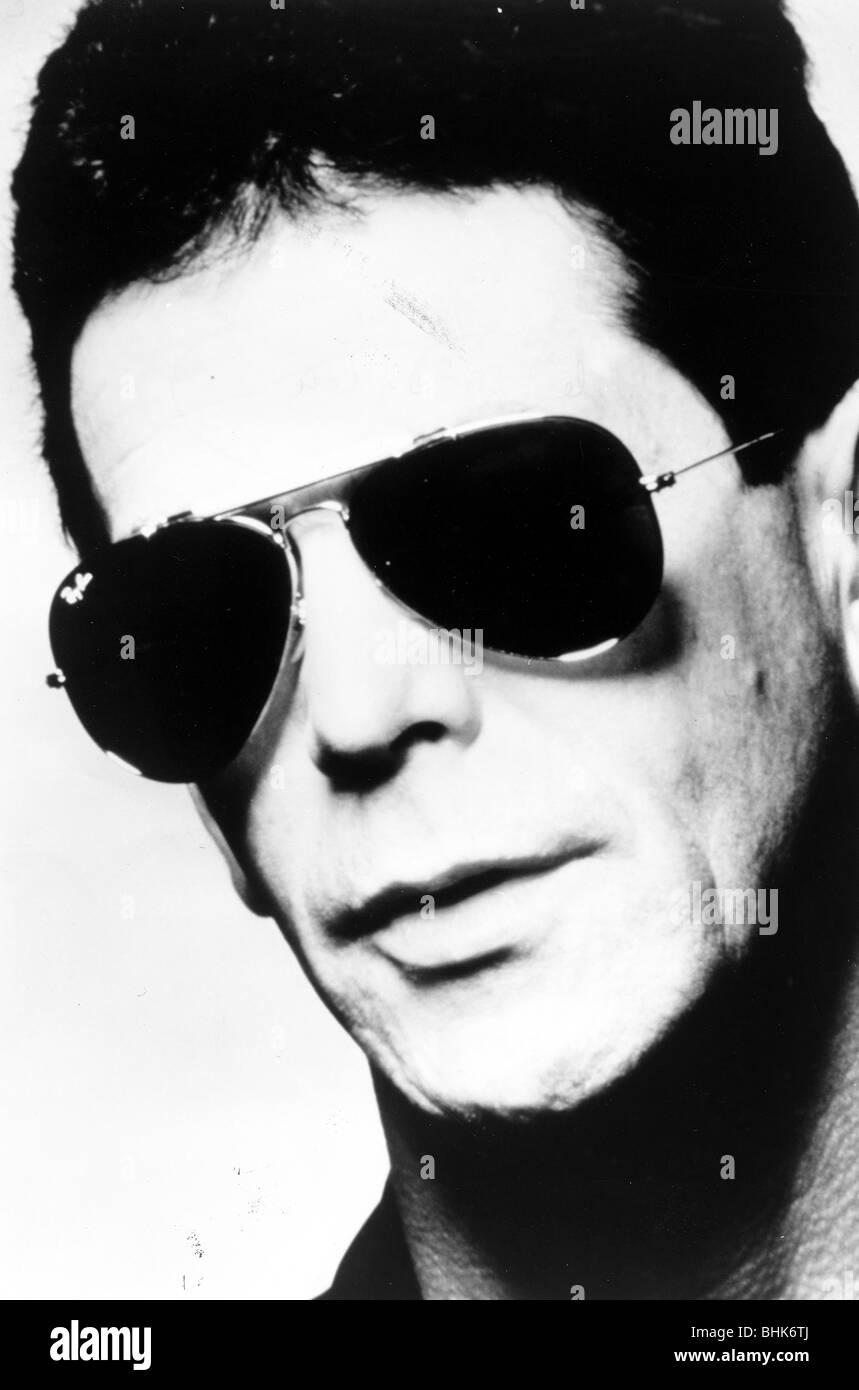 Lou Reed (1942- ), American Musician, 1989. Stock Photo