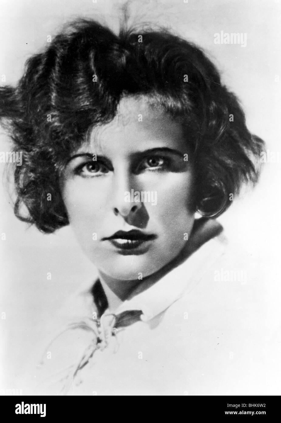 Leni Reifenstahl (1902-2003), German Film maker. - Stock Image