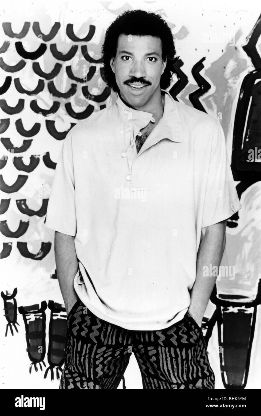 Lionel Richie (1949- ), American singer, 1988. - Stock Image