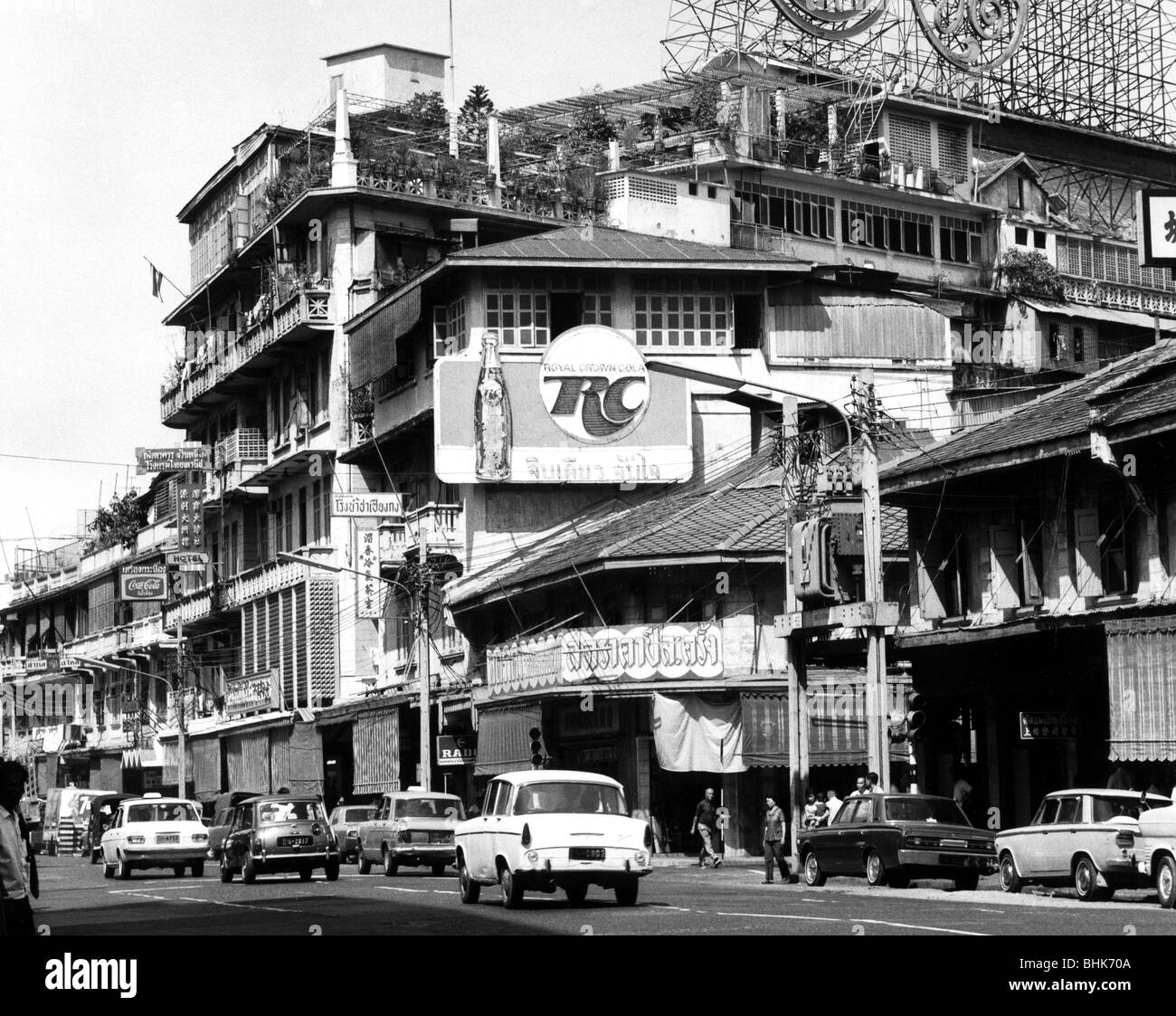 geography / travel, Thailand, Bangkok, streets, New Road in the