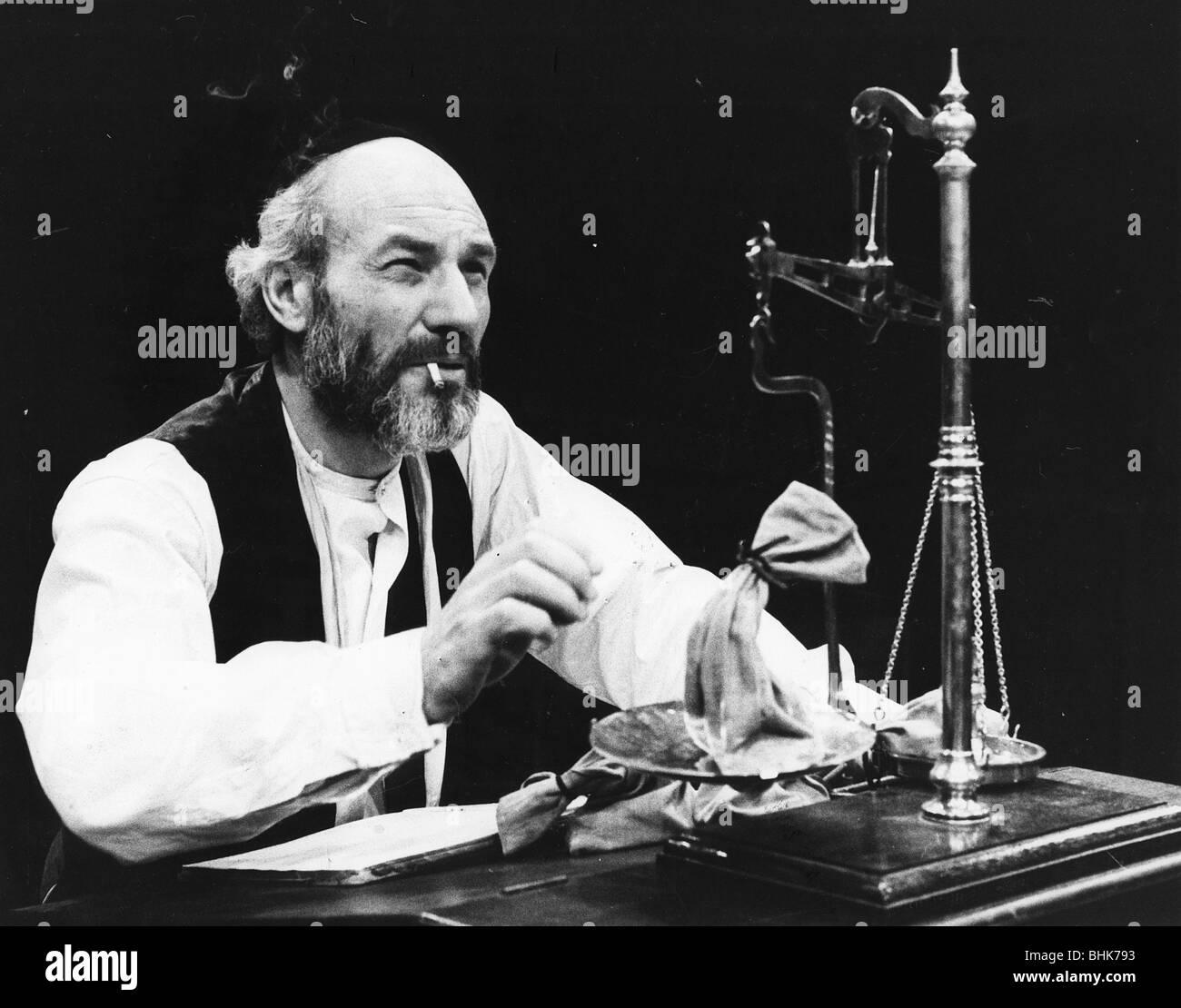 Patrick Stewart (1940-), British actor, 1979. - Stock Image
