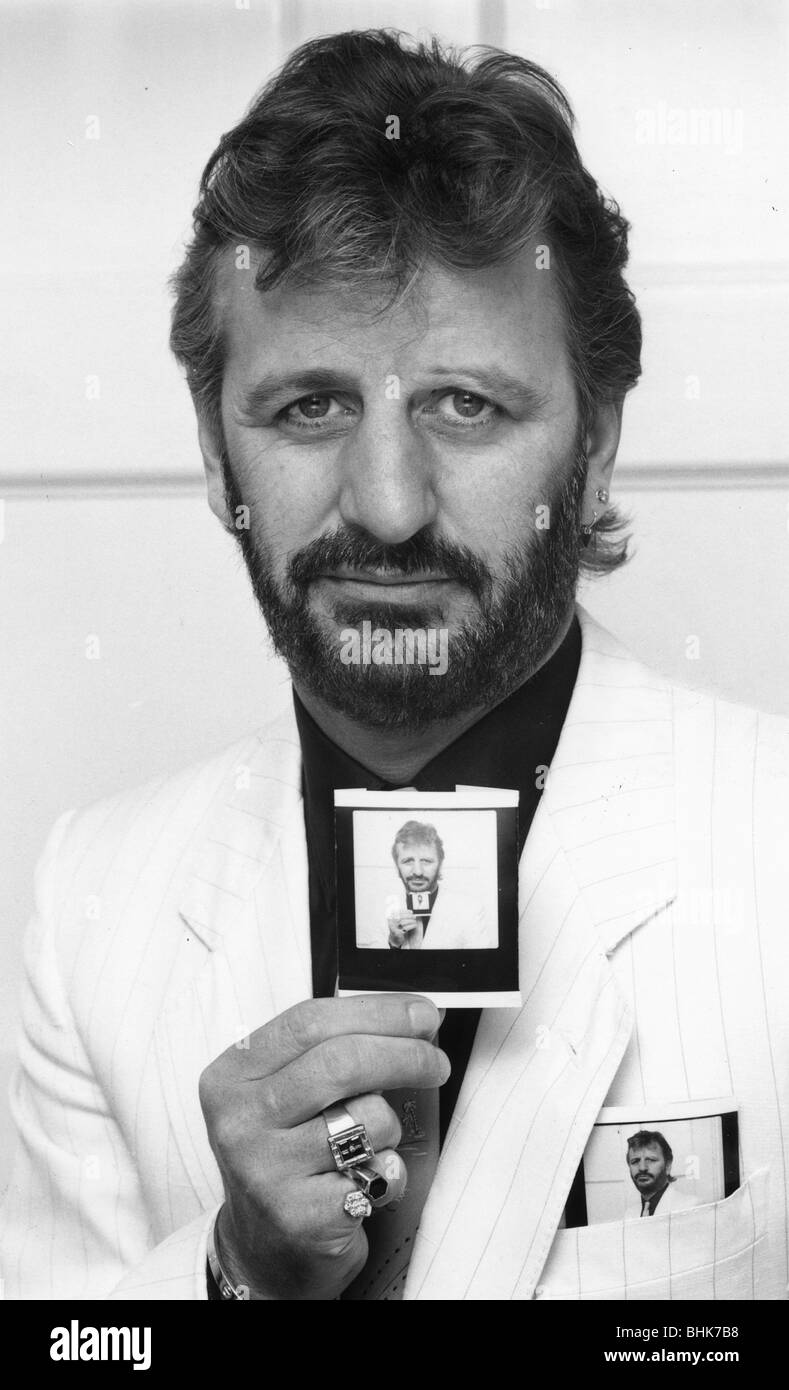 Ringo Starr 1940 British Musician And Singer