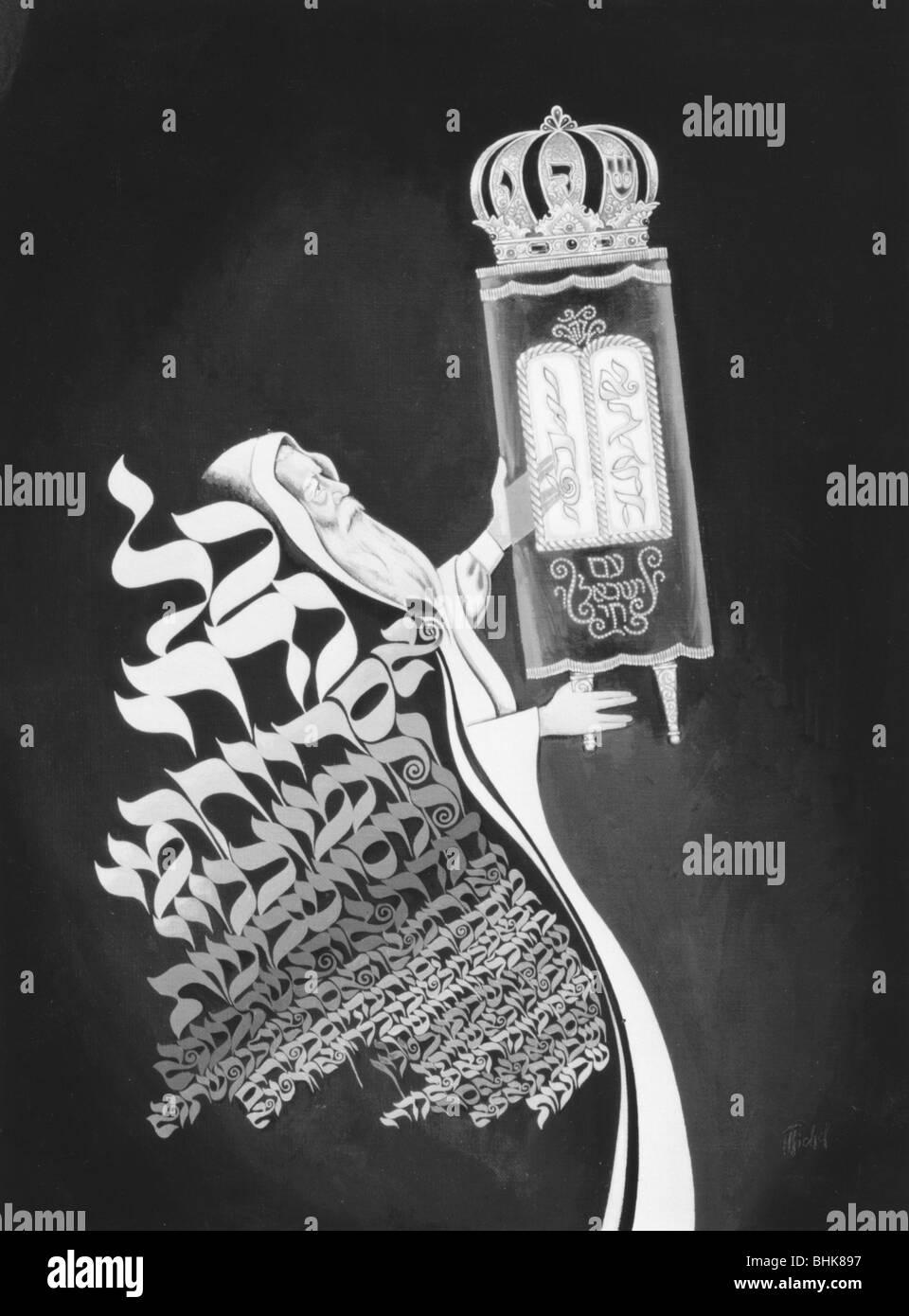 Yom Kippur - Stock Image