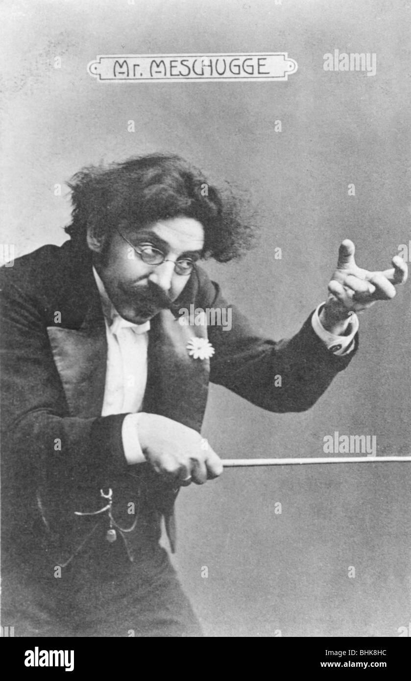 Mr Meschugge, 1910. - Stock Image