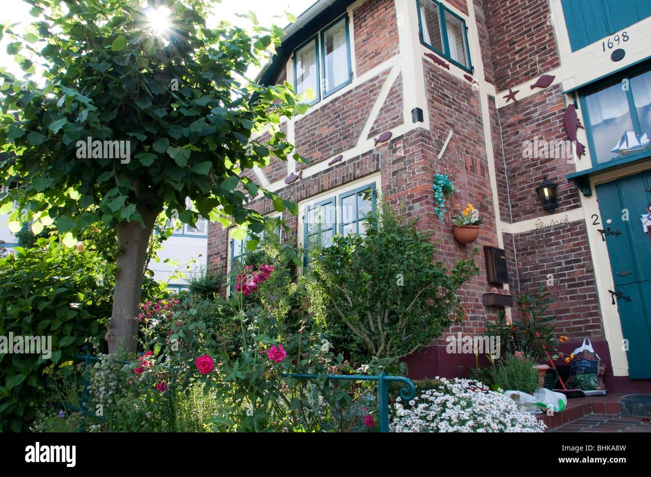 Haus, Blankenese, Hamburg, Deutschland   house, Blankenese, Hamburg, Germany - Stock Image