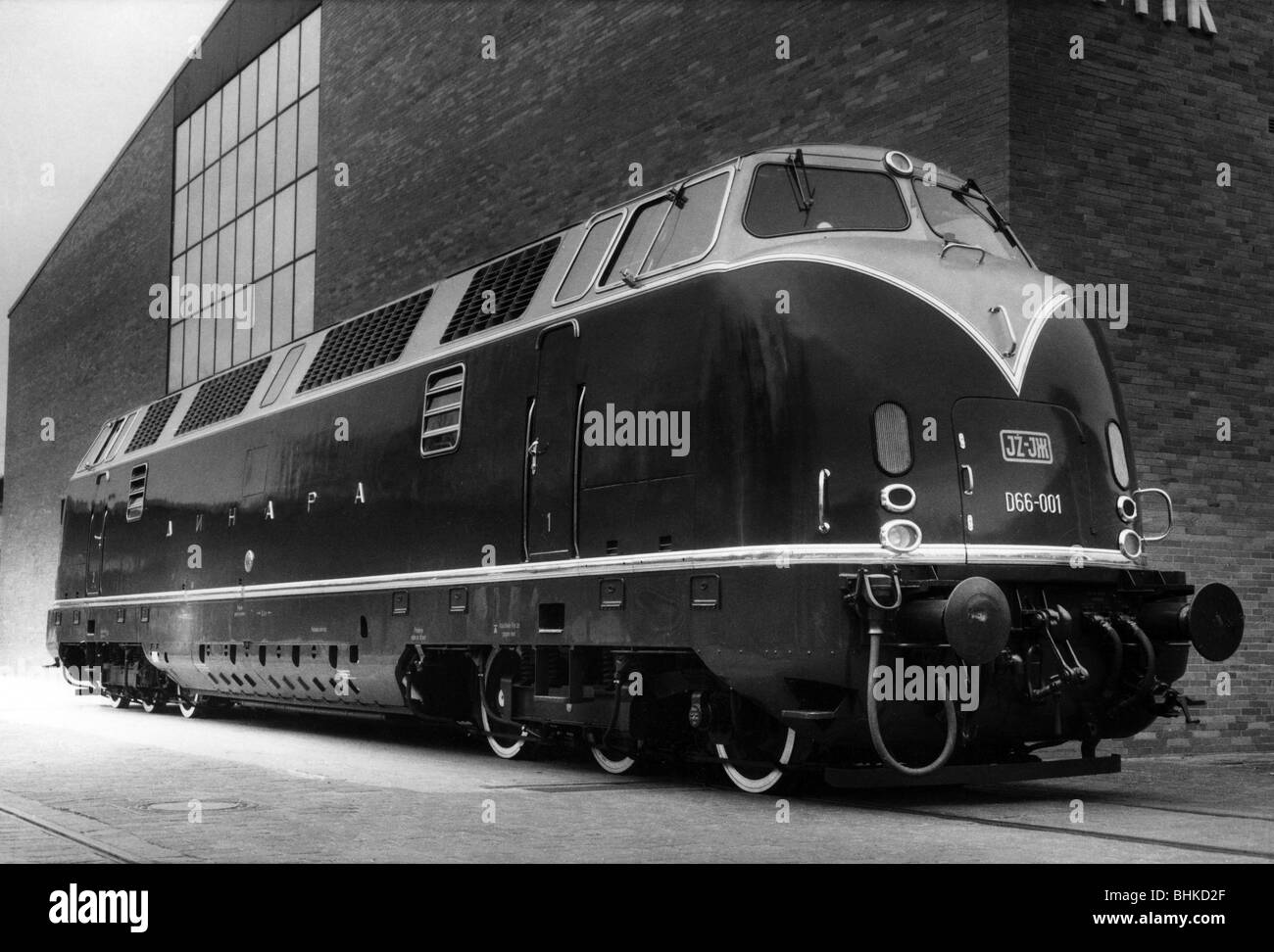 transport / transportation, railway, locomotives, diesel locomotive Krauss-Maffei ML 2200 CC, series V 200, built - Stock Image