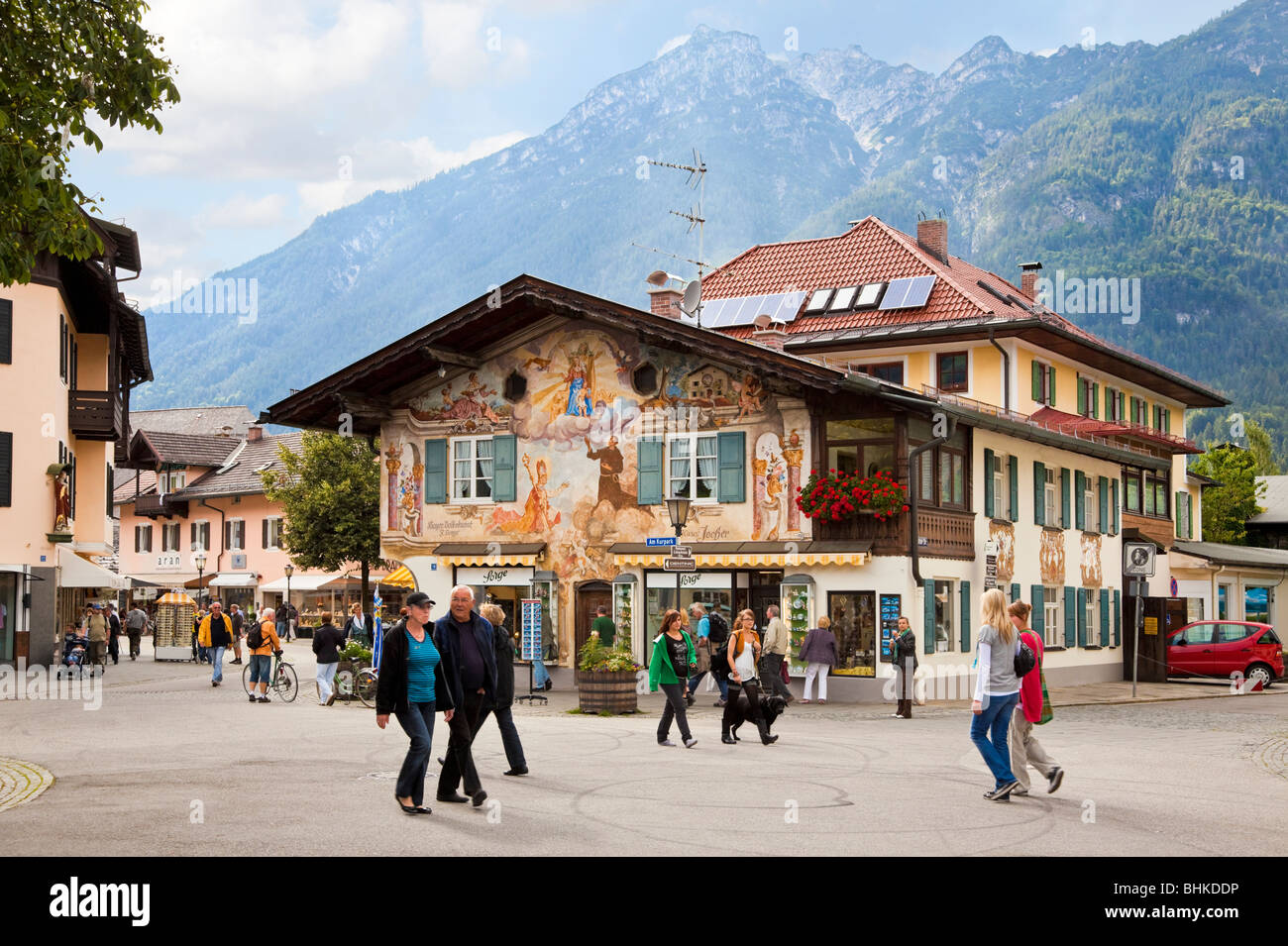 Garmisch Partenkirchen Bavaria Germany Europe