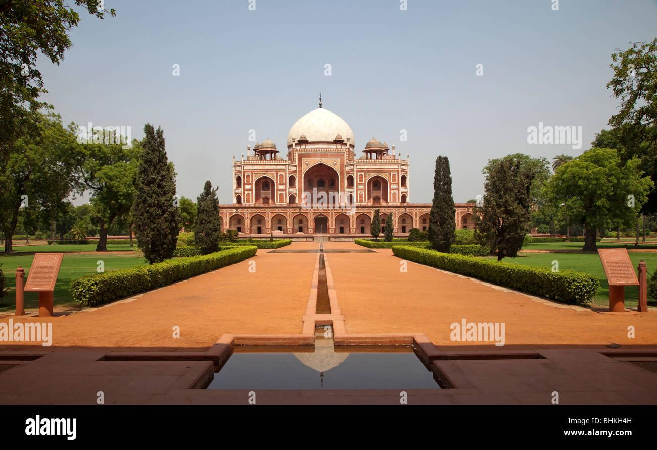 India Haryana New Delhi Humayun's tomb - Stock Image