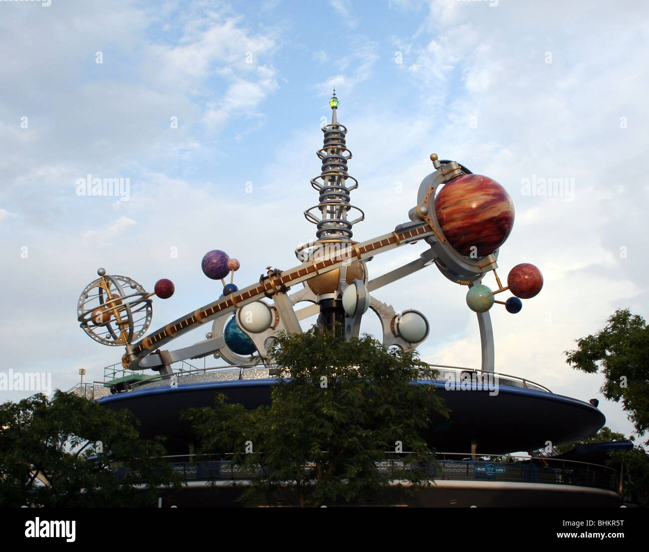 Magic Kingdom Walt Disney World Florida USA Stock Photo