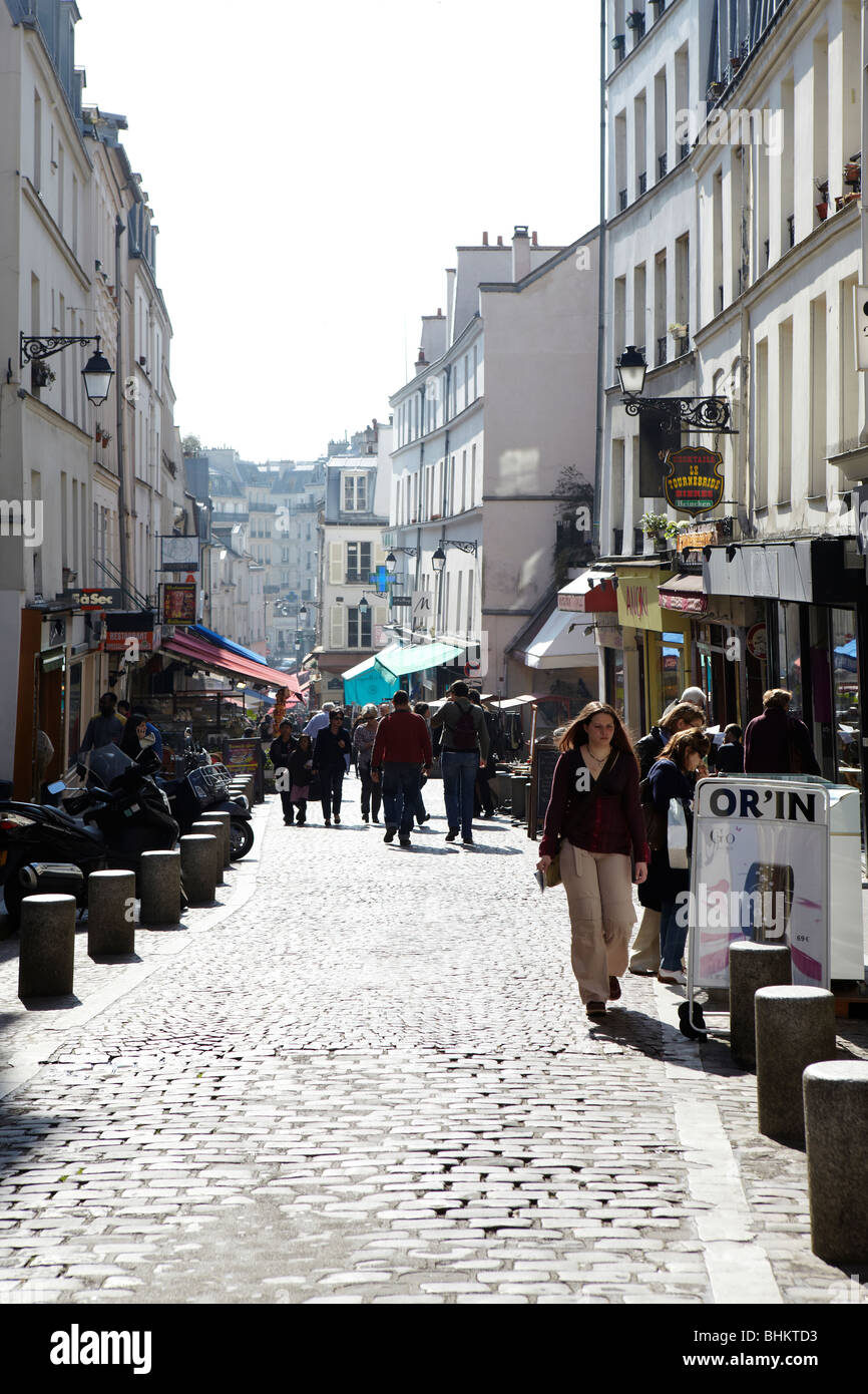 Rue Mouffetard Stock Photos & Rue Mouffetard Stock Images - Alamy