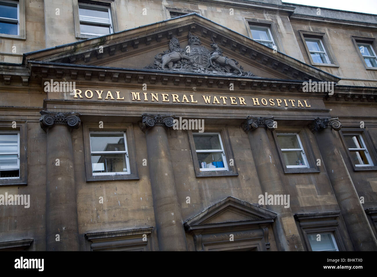 Royal Mineral Water Hospital Bath Somerset England - Stock Image