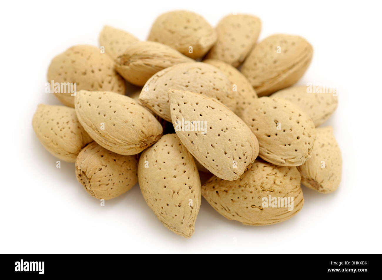 Almonds - Stock Image