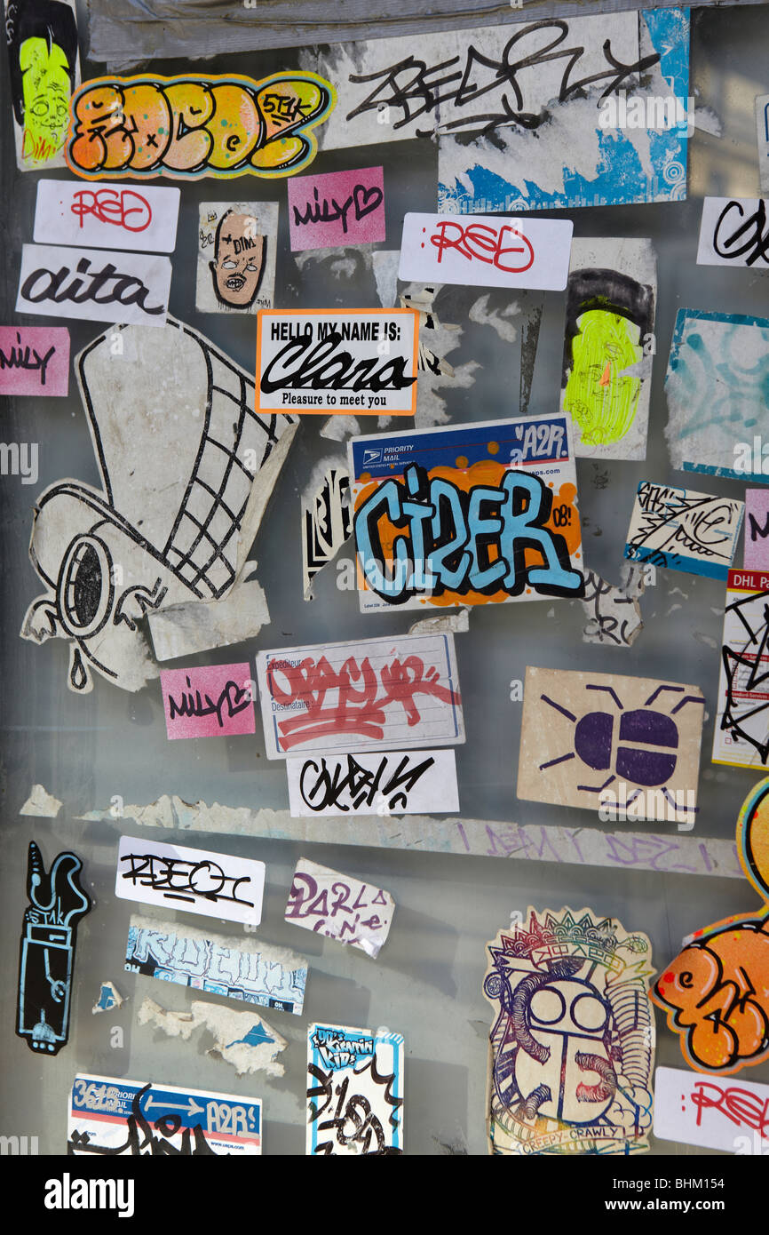 sticker tagging stock photos sticker tagging stock images alamy