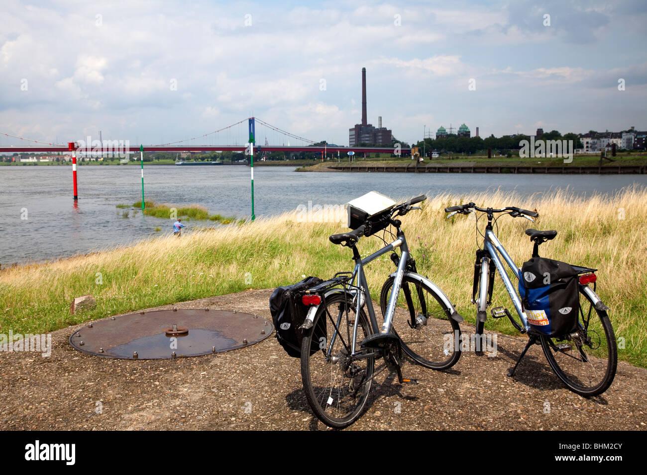 Ruhrtal, Ruhr region in Germany - Stock Image