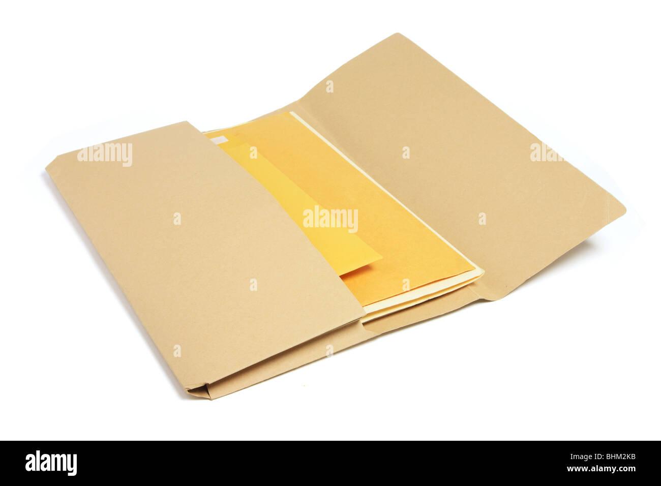Document Folder - Stock Image