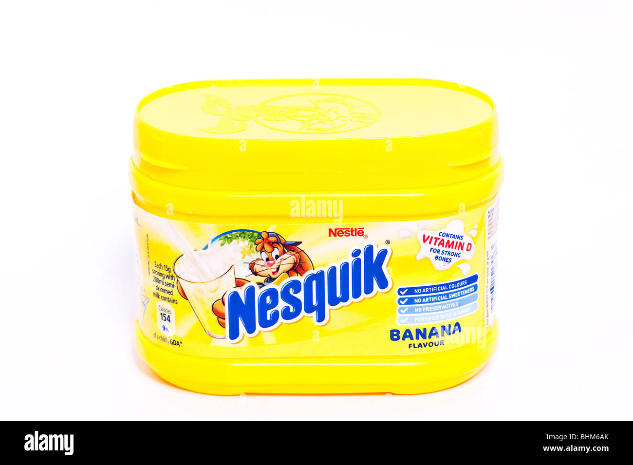 how to open nesquik powder
