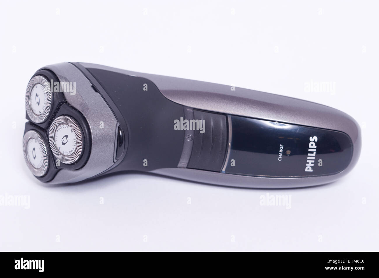 A Philips philishave electric shaver razor on a white background - Stock Image