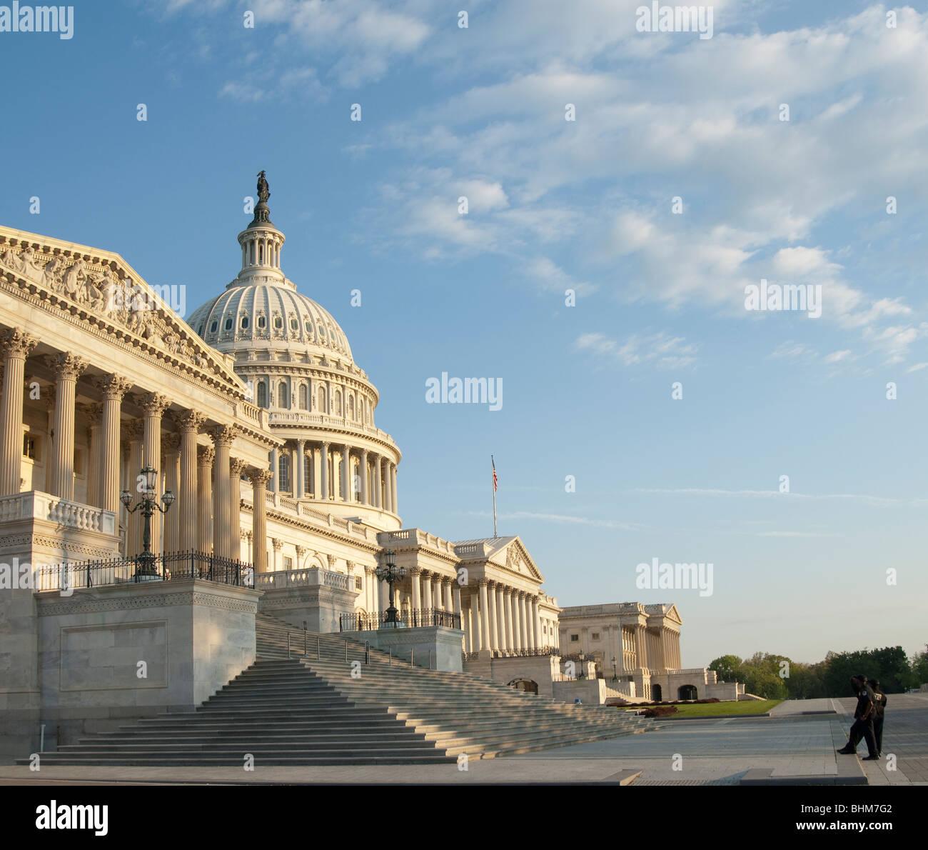 U.S. Capitol in Washington D.C. - Stock Image