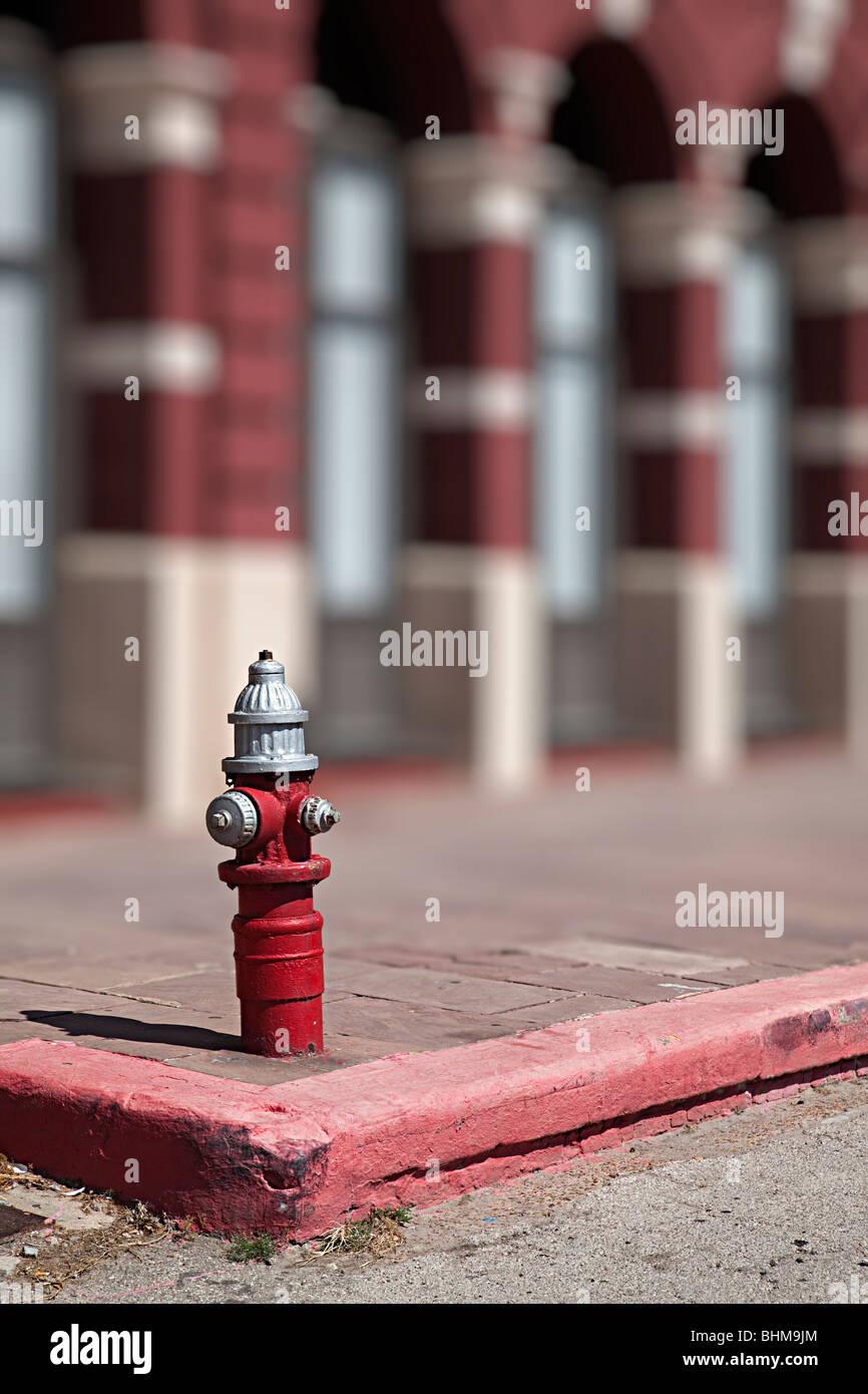 Fire hydrant Galveston Texas USA - Stock Image
