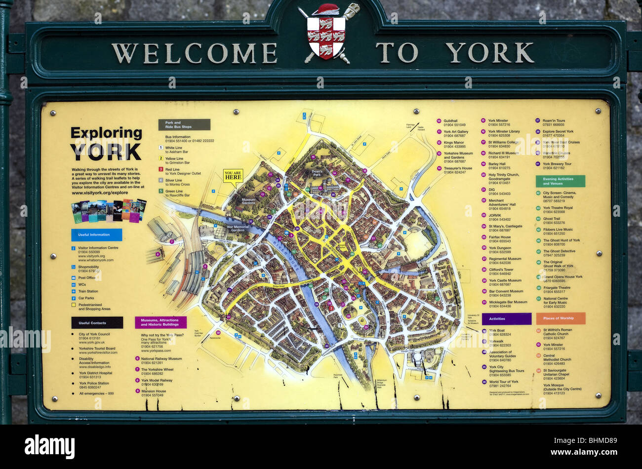 York Street Map Welcome to York street map Stock Photo: 28108985   Alamy