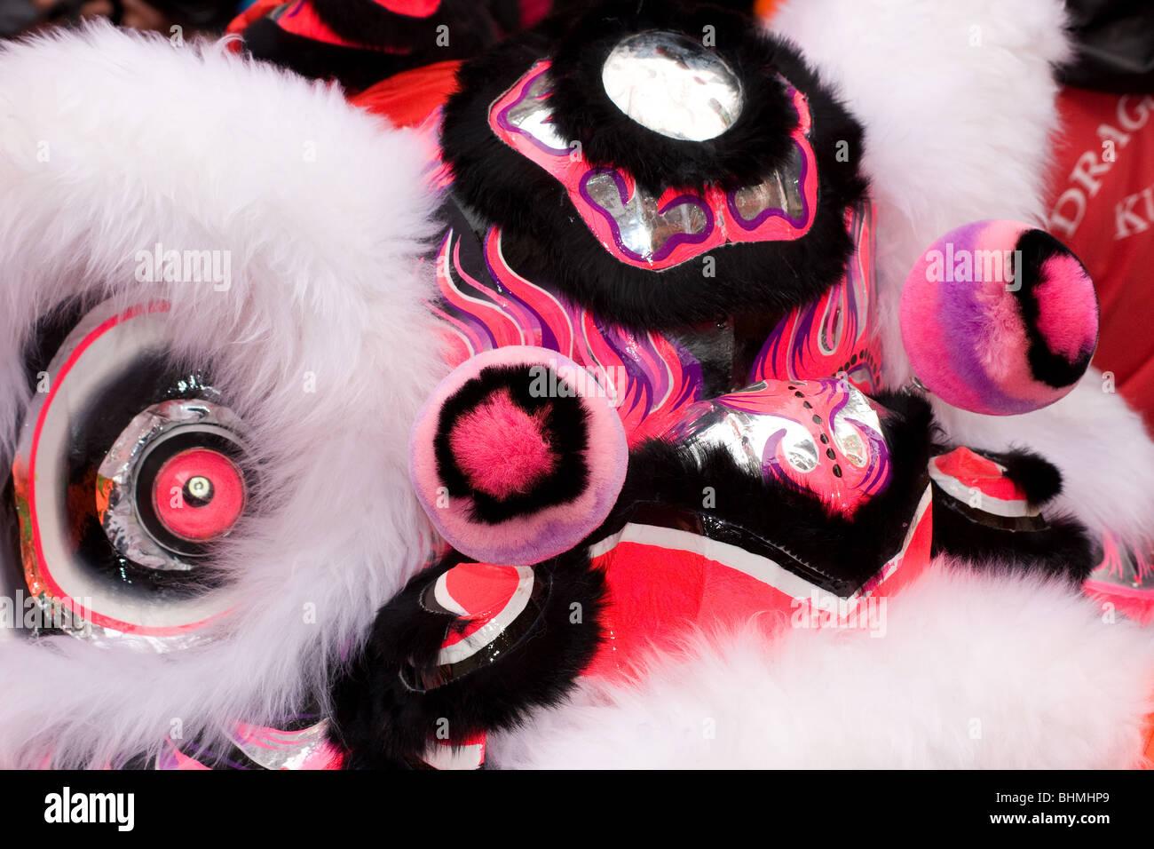 Chinese New Year celebrations , Year of the Tiger, Soho, London, UK - Stock Image