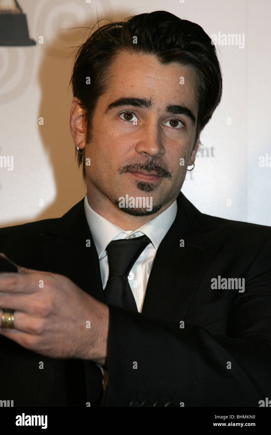 Colin Farrell at The 7th Annual Irish Film And Television Awards - Stock Image