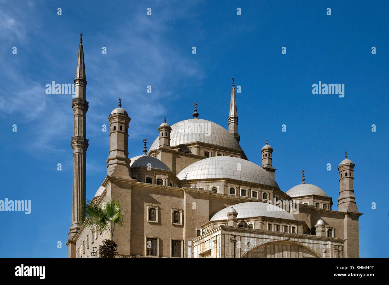 The Mosque of Muhammad Ali Pasha or Alabaster Mosque Cairo Egypt Stock Photo