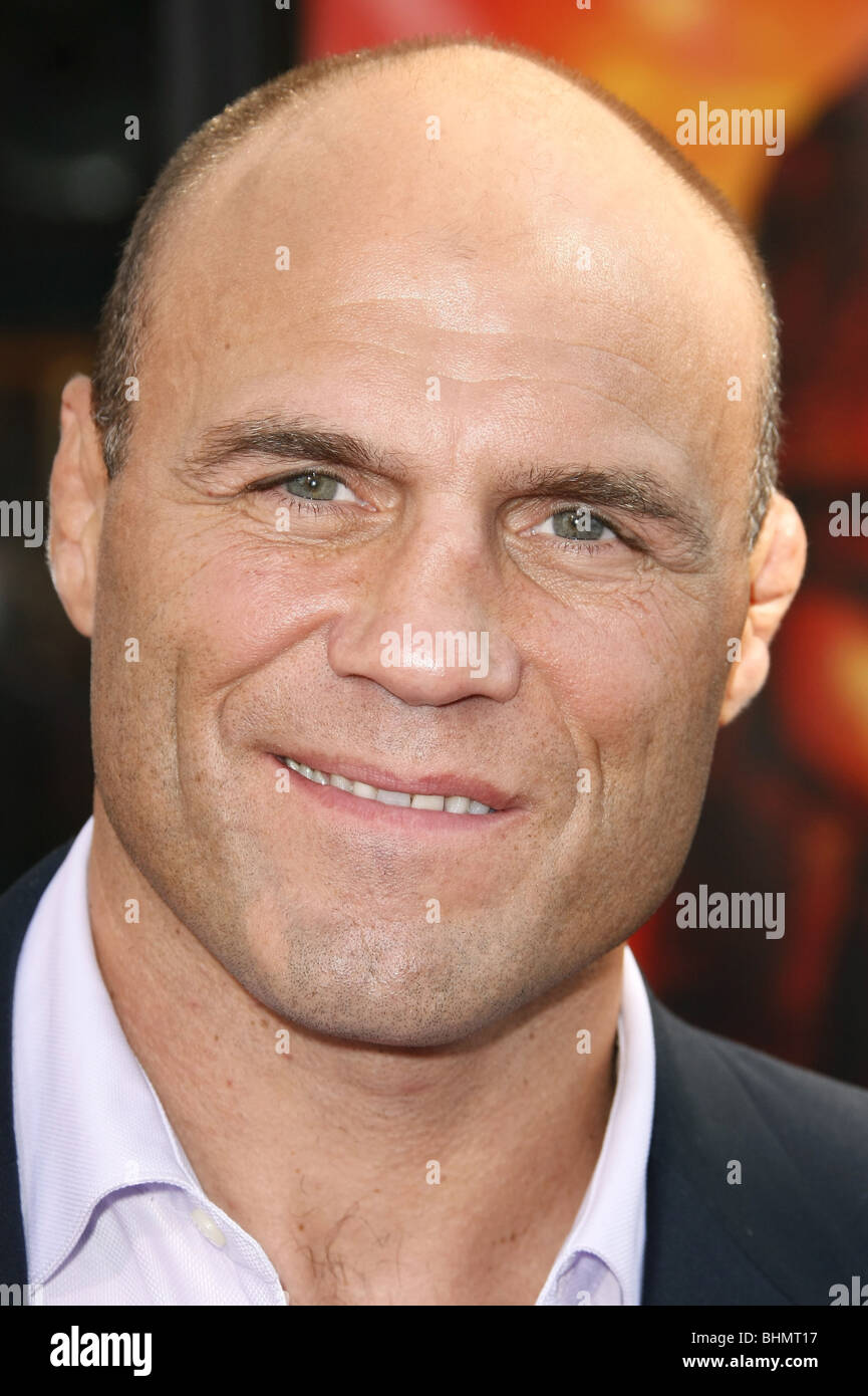 RANDY COUTURE THE MUMMY: TOMB OF THE DRAGON EMPEROR PREMIERE CALIFORNIA  USA 27 July 2008 - Stock Image