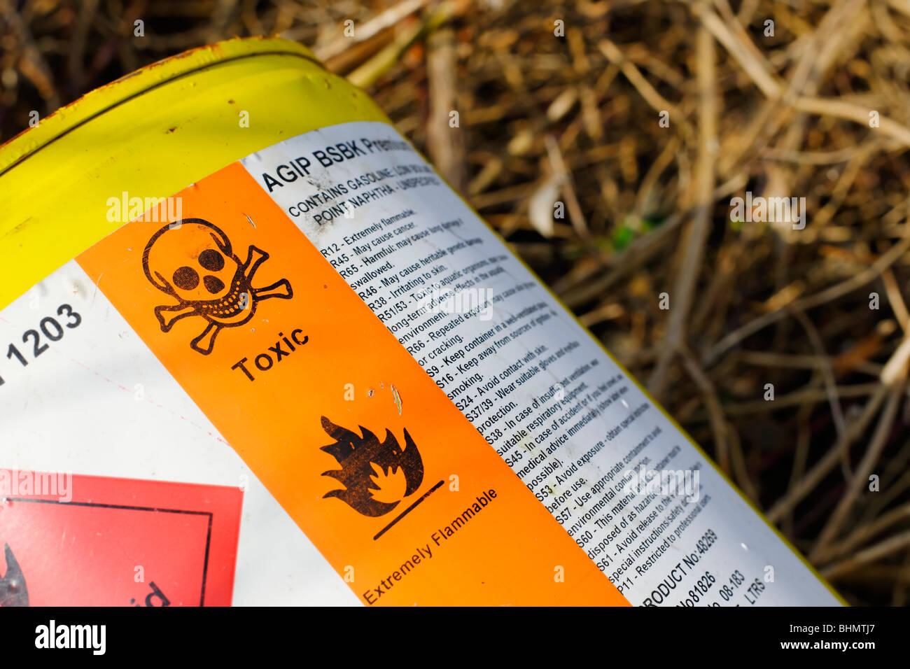 Toxic - Stock Image