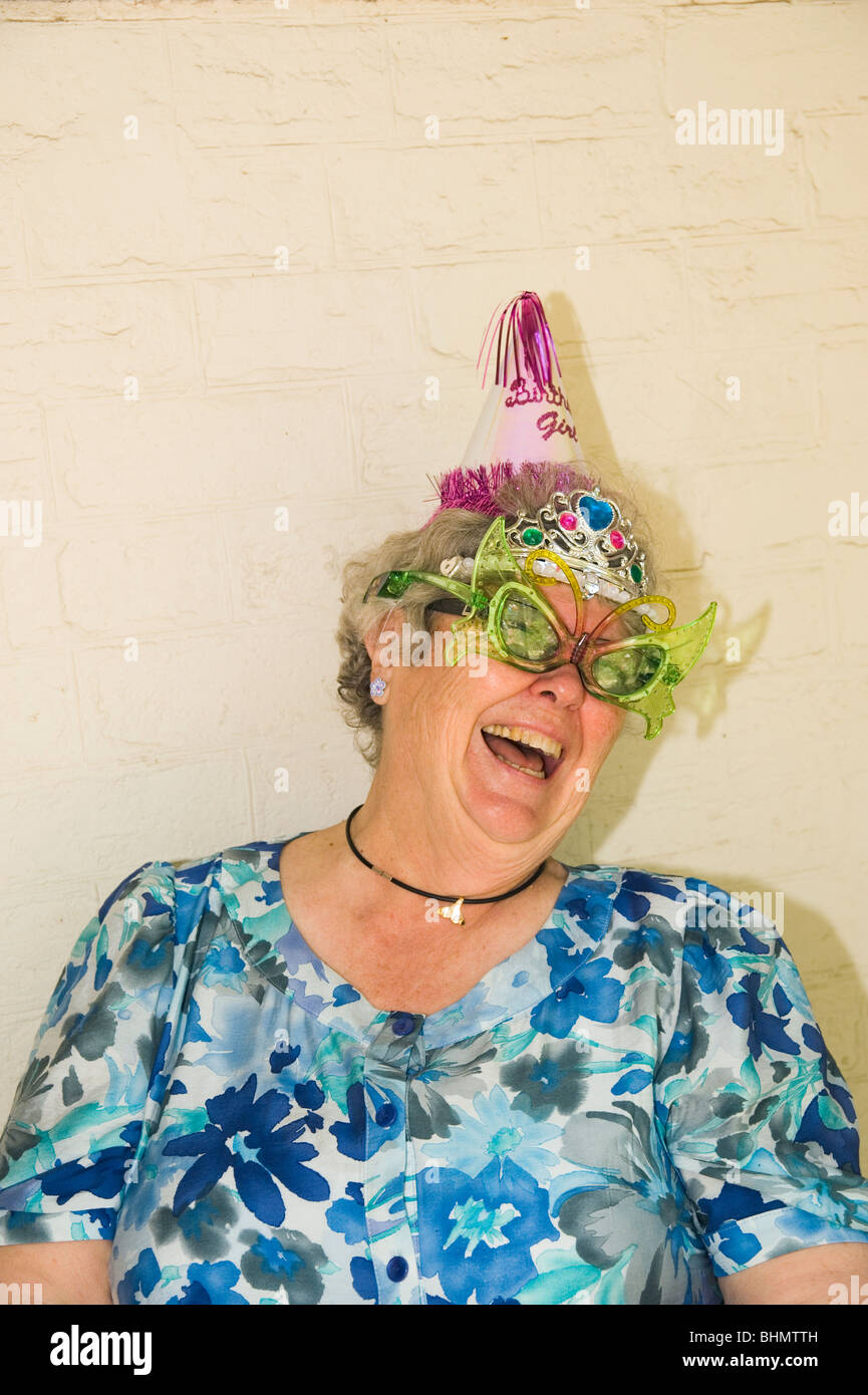 Grandma Party Hat Stock Photos Images
