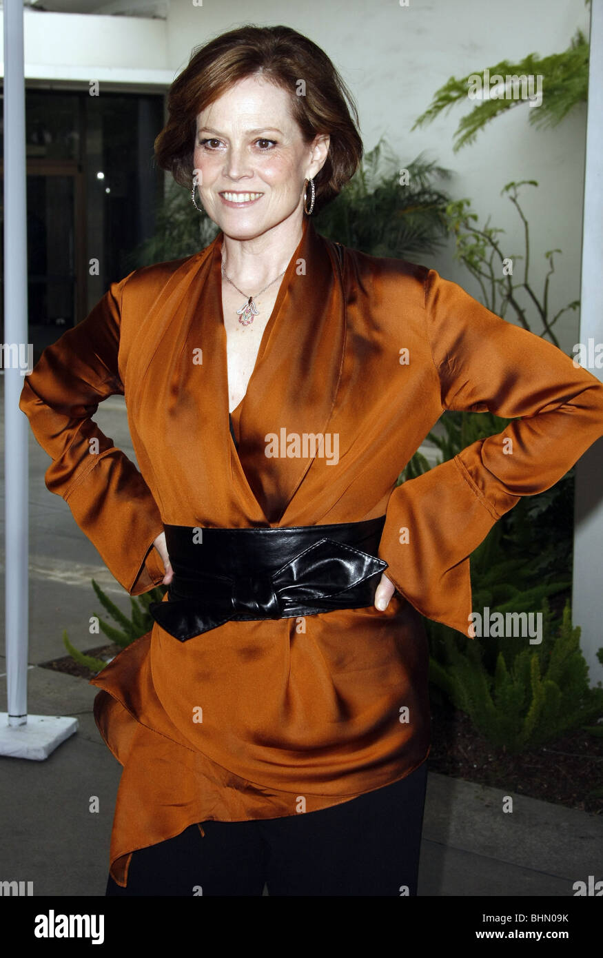 SIGOURNET WEAVER THE TALES OF DESPEREAUX WORLD PREMIERE HOLLYWOOD LOS ANGELES CA USA 07 December 2008 - Stock Image