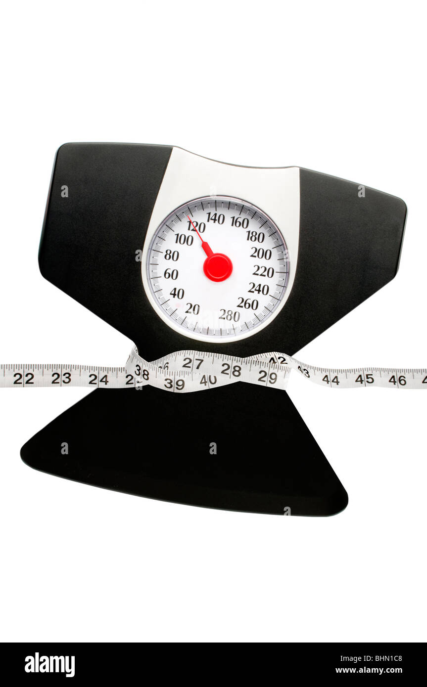 weight scale - Stock Image