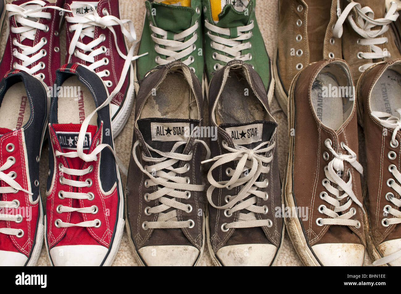 db9782dd5bf6 Converse All Star Trainers Stock Photos   Converse All Star Trainers ...